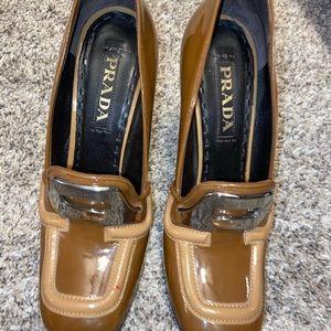 Pattern Prada heels